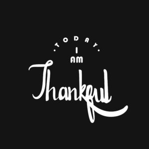 Small business attitude of gratitude