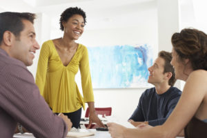 Get to know potential clients and other business owners before talking about business.